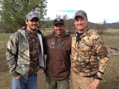 Clint Trickett -a former American football quarterback, playing college football at Florida State and West Virginia has a fun time with a successful pig hunt.