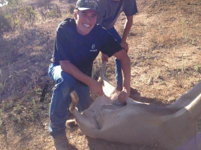 First buck