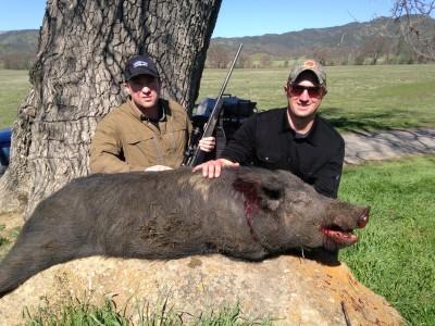 Matt & Luke's First Pig Hunt